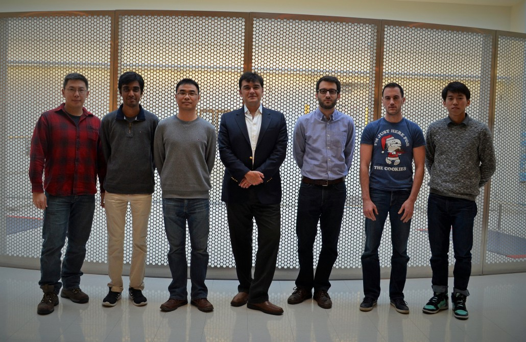 group photo of lab members