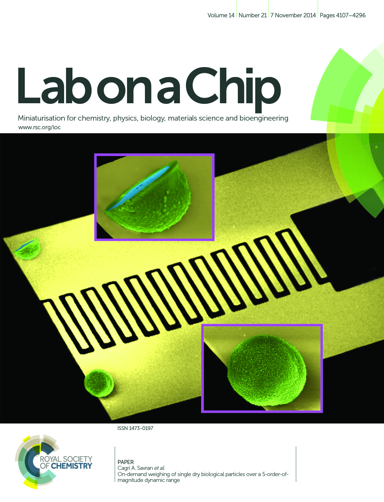 lab on a chip magazine cover